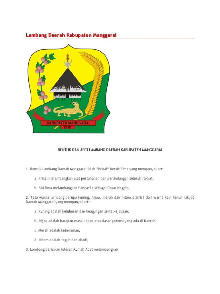 Lambang Daerah Kabupaten Manggarai Timur