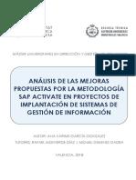 ANA LISIS DE LAS MEJORAS PROPUESTAS POR LA METODOLOGA A SAP ACTIVATE EN PROYECTOS.pdf