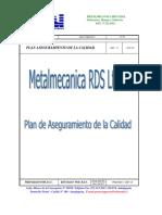 Rds Ltda Plan Aseguramiento Calidad