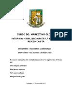 Marketing Global Renzo Costa