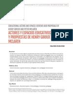 Articulo Henry giroux y piter maclaren.pdf
