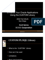 Custom Library Presentation