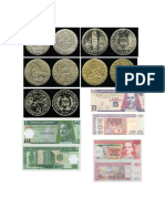 Billetes y monedas de cuatro paises centroamericanos.docx