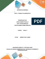 Geografía Económica UNAD Trabajo colaborativo # 3