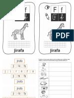 lección jirafa