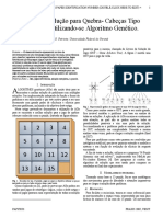 Busca de Solução para Quebra- Cabeças Tipo N-Puzzle Utilizando-se Algoritmo Genético.