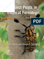 insect pest in tropical forests