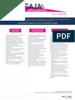 FACULTAD DE CULTURA, SOCIEDAD Y CREATIVIDAD - CAJA DE HERRAMIENTAS 8 - LA RESEÑA - 21,5X28CM copia.pdf