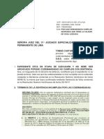 TOMAS CASTAÑEDA - PIDO QUE DEMANDADOS CUMPLAN SENTENCIA.docx