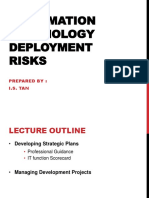 Chapter 4 Information Technology Deployment Risk