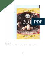 Calabash Volume 4