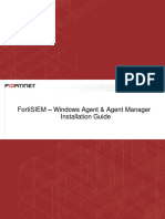 Fortisiem Windows Agent Instalation Guide