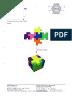 Radierer Puzzle Würfel