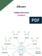 Alkenes Reactions