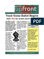 Upfront August 2019, Track Noise Ballot Special