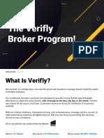 Verifly Insurance Broker Program