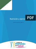 Nutricion y ejercicio