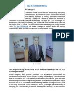 Dr. Avi Weisfogel Dental Sleep MBA