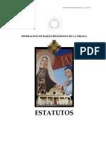 Estatuto Federacion Tirana