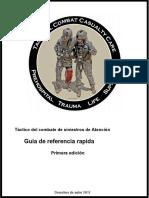 TCCC Quick Reference Guide 2017.en.es