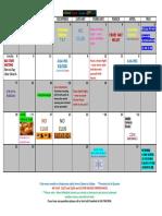 AWANA Calendar 2019-2020