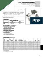 Asco Quick Exhaust Catalog