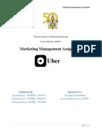 UBER market analysis