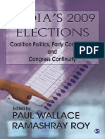 India's 2009 Elections - Prof Paul Wallace