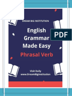 50 Common English Phrasal Verbs – (DreamBiginstitution)