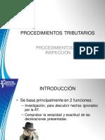 5.Procedimientos de Inspección