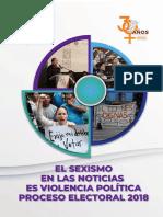 Participación Política de Las Mujeres en 2018 Observatorio_Final
