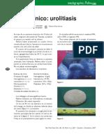 caso clinico urolitiasis