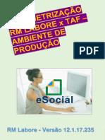 eBook - Envio de Eventos Do Esocial Para o Ambiente de Produção