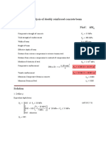 Mathcad - 04. Analysis of Doubly Reinforced Concrete Beam