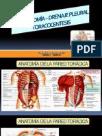 Toracotomia y Drenaje Pleural - Cirugía 1