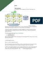 Credit Management Parts