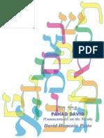 Pahad David (Commentaries on the Torah)