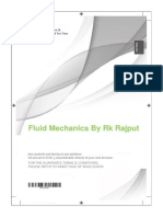 fluid mechanics by rk rajput
