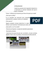 Software de Simulacion de Procesos