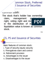 Chapter - 8 CS, PS and Issuance of Securities
