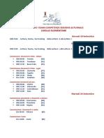Calendario Esami Competenze Sessione Autunnale 2019