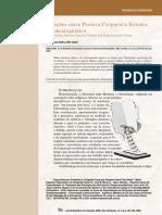 Relações Entre Postura Corporal e Sistema Estomatognático