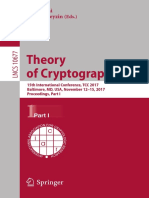 LNCS 10677 theory of cryptography