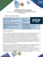 Syllabus Del Curso Química Ambiental