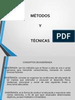 TÉCNICAS Y METODOLOGÍA DE ENSEÑANZA..pptx