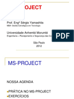 Aula Ms Project 2010