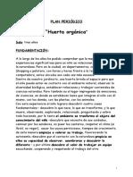 Proyecto - Huerta