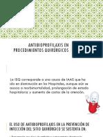 Antibioprofilaxis Proc Quirurgicos