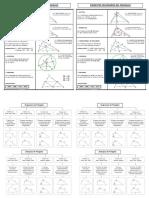 Matematica triángulos.