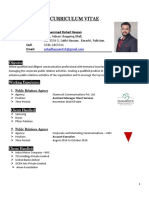 Rohail's CV